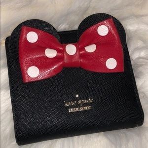Kate Spade Minnie Mouse wallet